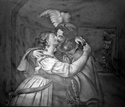Meißen 115 – Der Kuß von Goethes Faust nach Retzsch