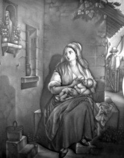 HPM 110 – Stillende Mutter