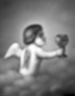 HPM 40 - Engel mit Kelch in einer Wolke