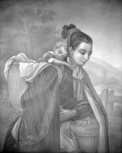 HPM 81 - Harzerin mit Kind, nach Meyerheim