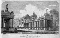 Berlin, Königskollonaden um 1880, A0135