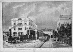 Berlin, Potsdamer Bahnhof um 1840, A0137