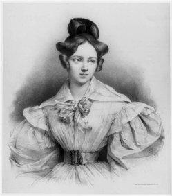 Joseph Lemercier (1803-1887), Portrait Henriette Sontag, Lithograpie, A0127