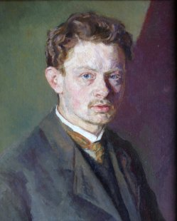 Wilhelm Giese (1883-1945), Selbstportrait, 1907 (108)