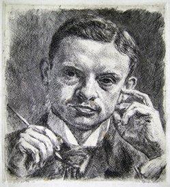 Wilhelm Giese (1883-1945), Selbstportrait, 1910 (048)