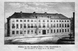 Berlin, Alexanderstraße 70 (Wohnhaus Svarez), A0156