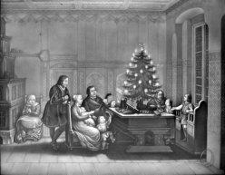 CMH 241 - Luther mit Familie am Weihnachtsabend, nach Schwerdgeburth
