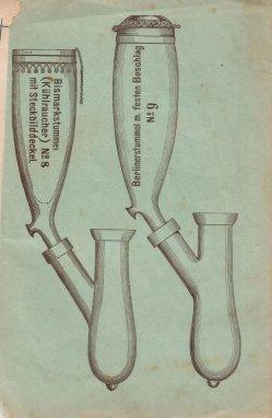 Porzellan-Manufaktur und Pfeifenfabrik Engler, Linz a.D. Preis-Kurant um 1900, D0974-Umschlag 3