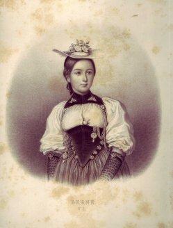 Joseph Johann Sutter (1781-1866), Lithographie, Berne Nr. 2, D1194-1