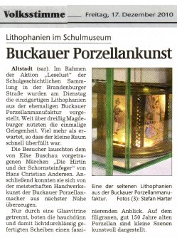 17.12.2010 Buckauer Porzellankunst