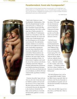 2011, Heft 1, Porzellanmalerei, Kunst oder Kunstgewerbe