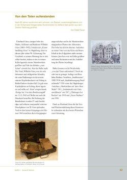 2011 Heft 2 Kunst und Technik, Von den Toten Auferstanden