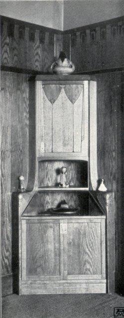 Albin Müller, Eck-Schrank 1904