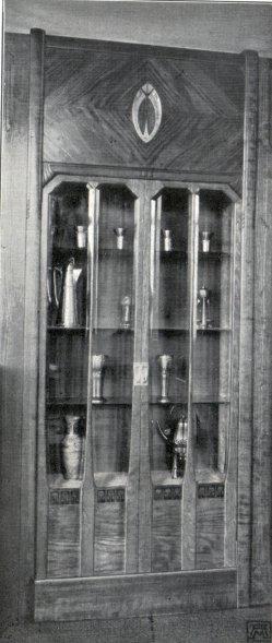 Albin Müller, Glas-Schrank 1904