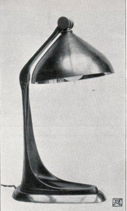 Albin Müller, Tisch-Lampe 1904