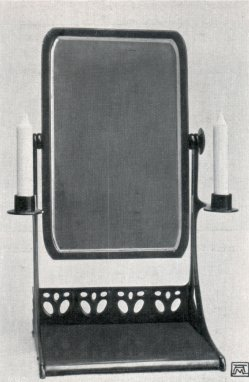 Albin Müller, Toilette-Spiegel 1904
