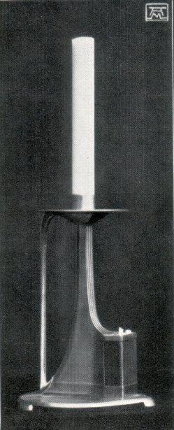 Albin Müller, Zinn-Leuchter 1904