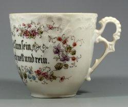 Barttasse, Moustache Cup, 1074