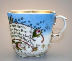Barttasse, Moustache Cup, 1092