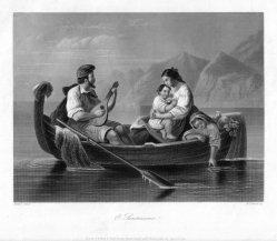 William French (1815-1898), O. Sandissima!, Stahlstich nach F. Hoppe, D2242-5