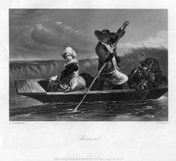 William French (1815-1898), Stroman, Stahlstich nach J.J.Jenkins, D2242-2
