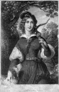 Franz Xaver Stöber (1795-1858), Blunia, Kupferstich nach Ender, D2267-20