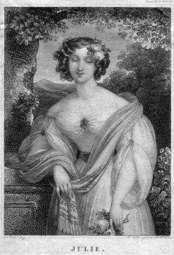 Franz Xaver Stöber (1795-1858), Julie, Stahlstich nach J. Ender, D2267-04