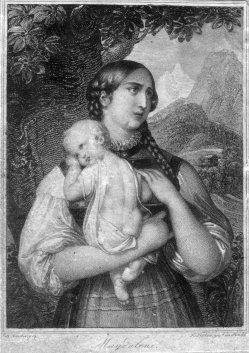 Franz Xaver Stöber (1795-1858), Magdalena, Stahlstich nach J. Ender, D2267-09