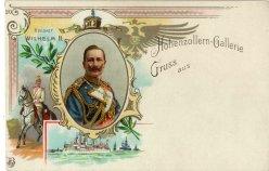 Kaiser Wilhelm II. (1888-1918), Portrait, AK, D2080-20