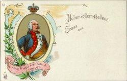 König Friedrich Wilhelm II (1786-1797), Portrait, AK, D2080-15