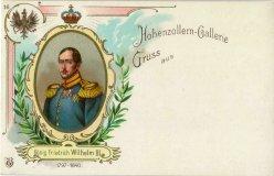 König Friedrich Wilhelm III (1797-1840), Portrait, AK, D2080-16
