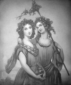 KPM 325 – Zwei Bachantinnen