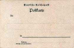 Rückseite AK Hohenzollern