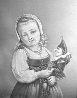 PPM 774 – Mädchen mit Puppe, Freude