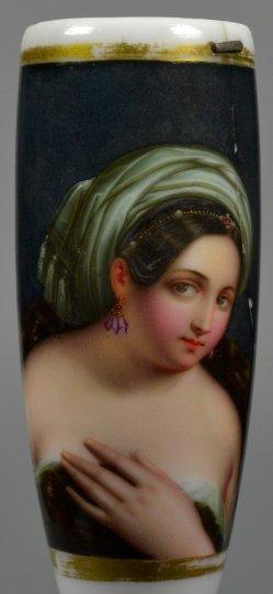 Raffaello Sanzio (1483-1520), Margherita Luti, Porzellanmalerei, Pfeifenkopf, D2288