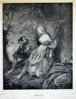 Alphonse Leon Noel (1807–1884), Die Befreiung, Lithographie nach Schopin, D2310