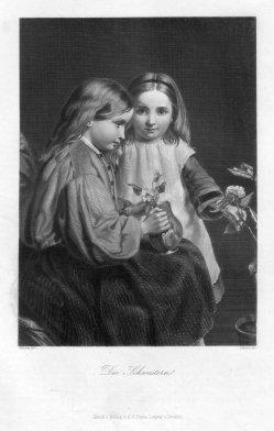 A. Simon, Die Schwestern, Stahlstich nach Moore, D2332-6