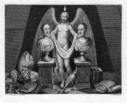 Carl Heinrich Rahl (1779-1843), Illustration, Stahlstich nacu L. Schnorr v. Carolsfeld, D2377-7