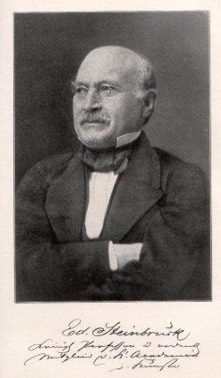 Eduard Steinbrück (1802-1882), Portraitfoto