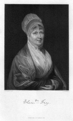 J. Cochran, Portrait Elizabeth Fry, Stahlstich nach Leslie, D2339-8