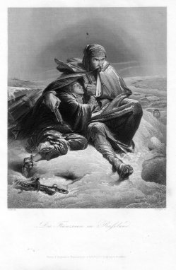 Albert Henry Payne (1812-1902), Die Franzosen in Russland, Stahlstich nach F. Philippoteaux, D2388