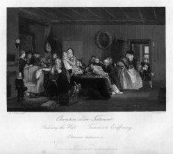 Albert Henry Payne (1812-1902), Testaments Eröffnung, Stahlstich nach D. Wilkie, D2390-9