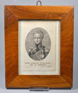 Carl Ferdinand Mayer (1798-1868), Louis Charles d´Orléans Duc de Nemours, Stahlstich nach Victor Laree