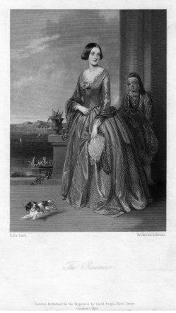 Frederick August Heath (1810-1878), The Reverie, Stahlstich nach R