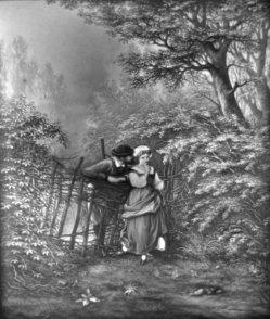 (PPM) 1234 – Liebesgeflüster am Gartenzaun