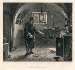 Albert Henry Payne (1812-1902), Das Praevenire, Stahlstich nach C.G.Naumann, D2422-1