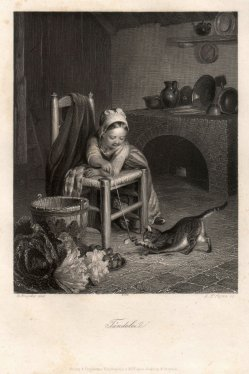Albert Henry Payne (1812-1902), Tändelei, Stahlstich nach de Bruycker, D2422-3