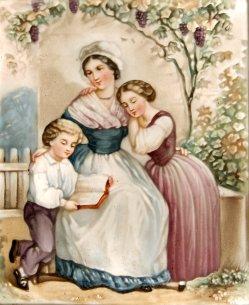 BPM 612 - Mutter mit ihren zwei Kindern