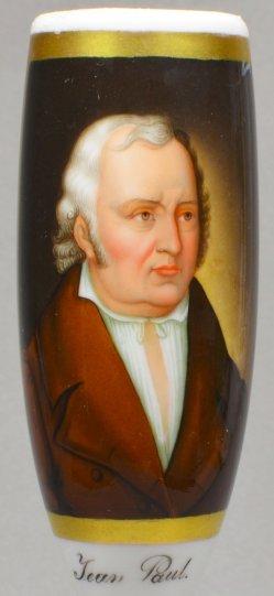 Vogel von Vogelstein (1788-1868), Jean Paul, Porzellanmalerei, Pfeifenkopf, B0156