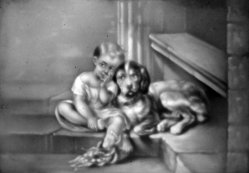 HPM 526 - Freunde auf der Treppe nach Jacob d.Ä.